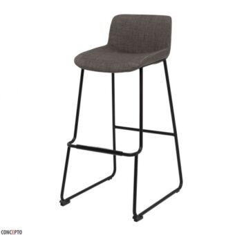 Cowboy барный стул серый