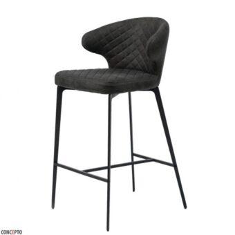 Keen полубарный стул нефтяной серый