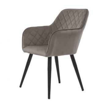 Antiba кресло пудровый серый