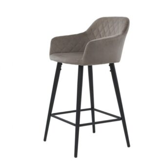 Antiba барный стул пудровый серый