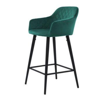 Antiba барный стул зелёный азур