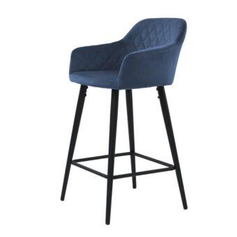 Antiba барный стул полуночный синий