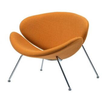 Foster кресло лаунж жёлтый карри