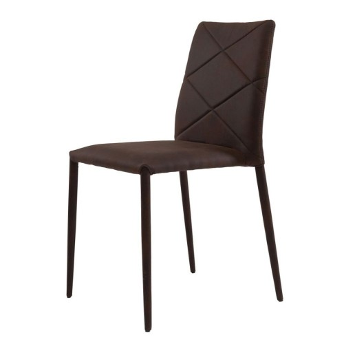 Volcker стул тёмно-коричневый