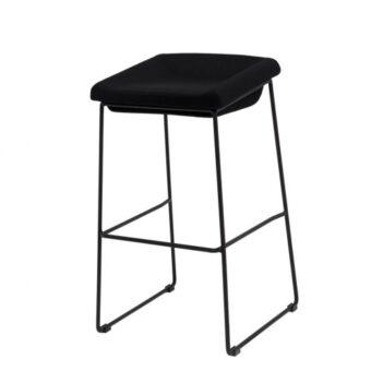 Coin барный стул чёрный