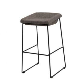 Coin барный стул серый