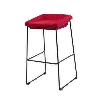 Coin барный стул красный