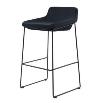 Comfy барный стул чёрный