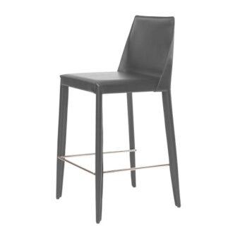 Marco полубарный стул серый антрацит