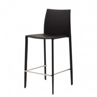 Grand полубарный стул чёрный