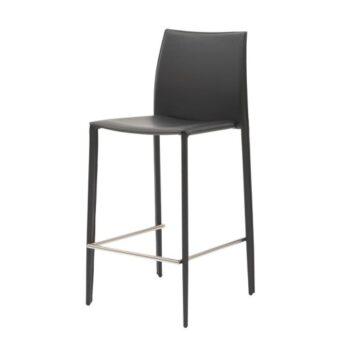 Grand полубарный стул серый антрацит
