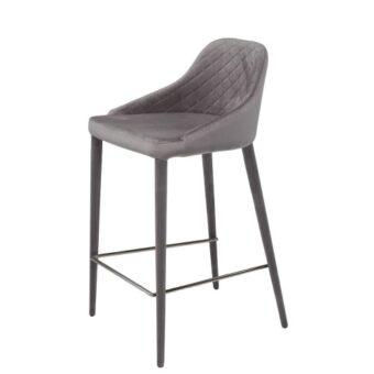 Elizabeth барный стул серый