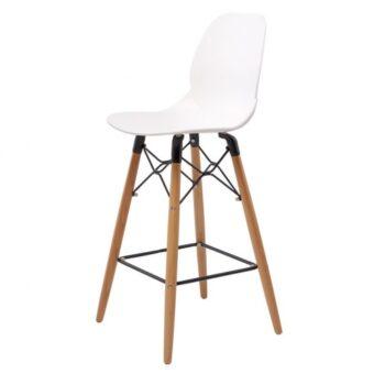 Friend полубарный стул белый