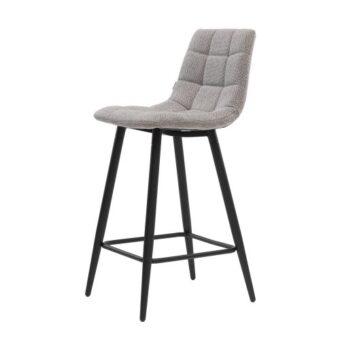 Glen полубарный стул серый