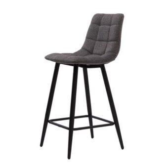 Glen полубарный стул серый графит