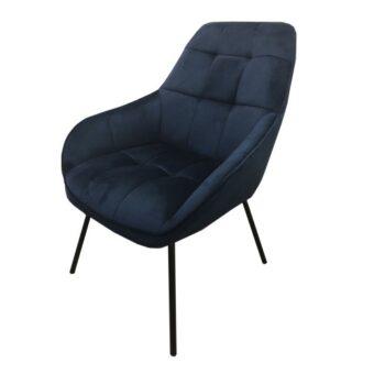Morgan лаунж кресло синее