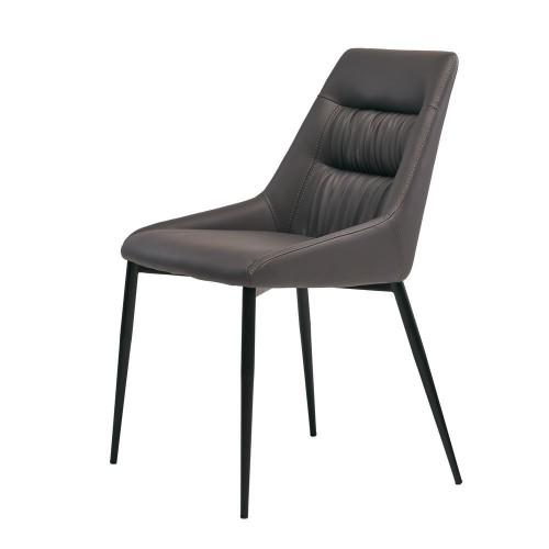 Savannah стул экокожа серый графит