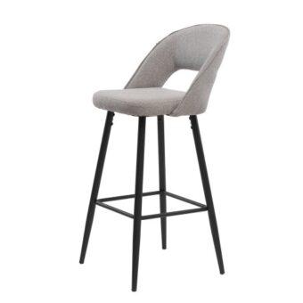 Taylor полубарный стул серый