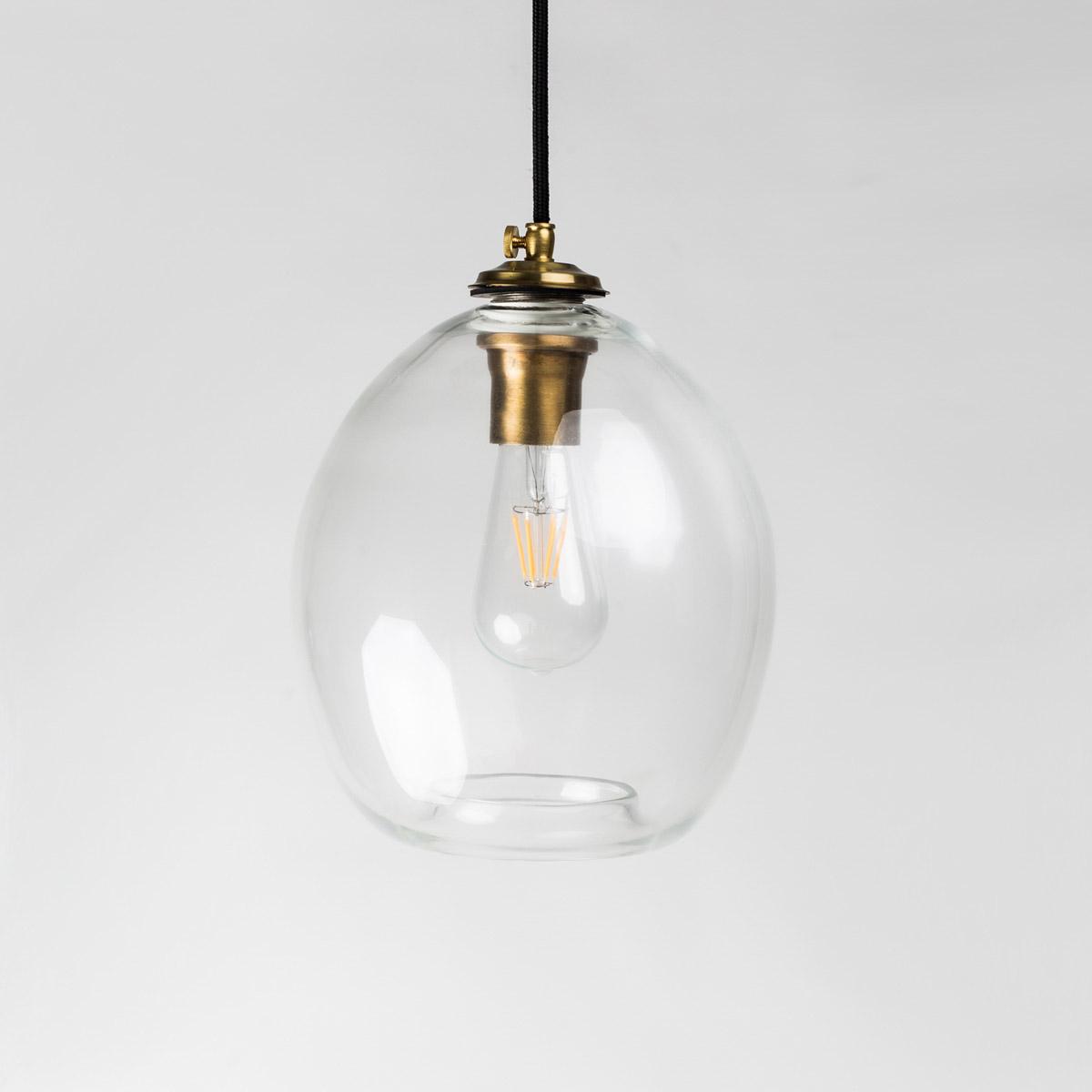 Потолочный светильник Colorglass прозрачный