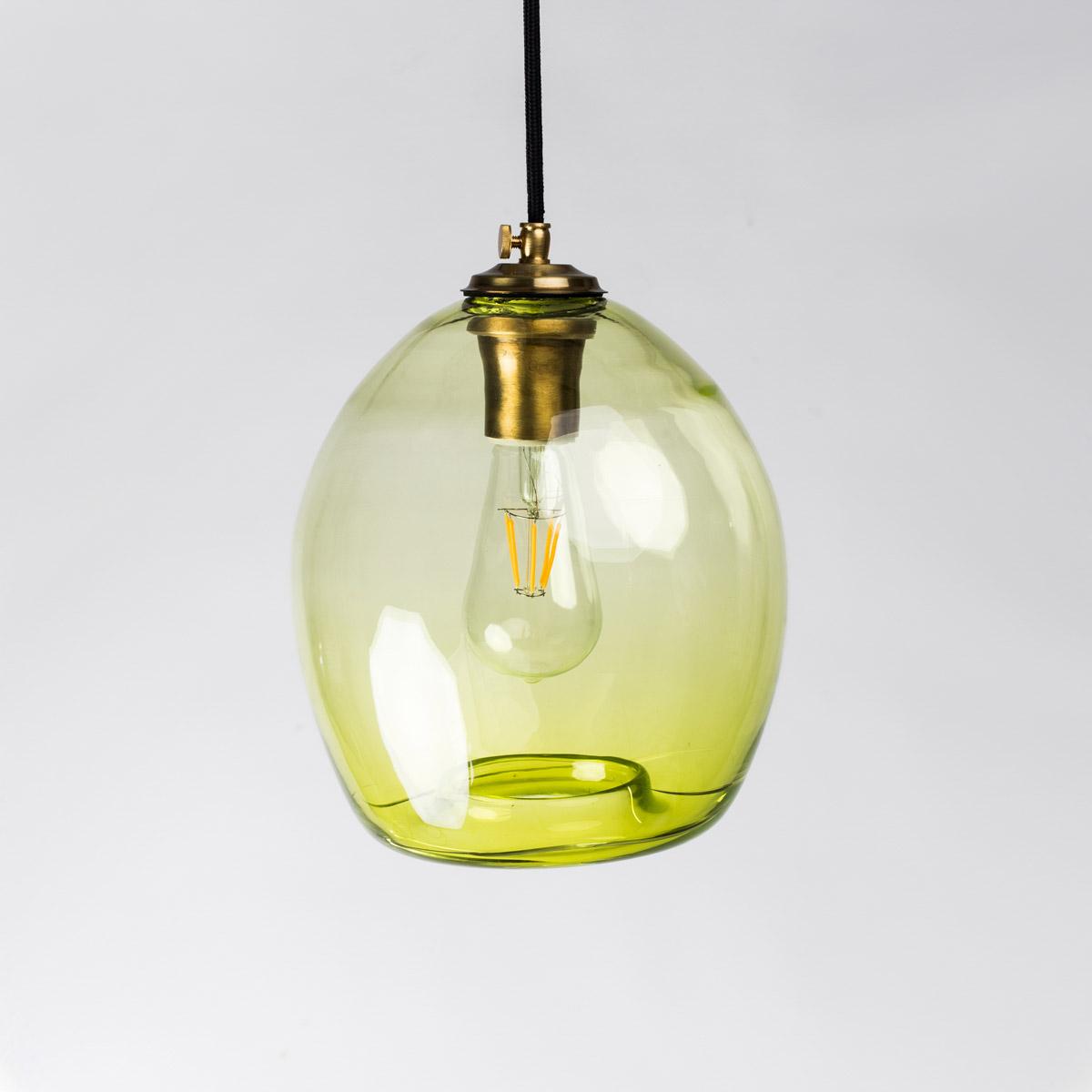 Потолочный светильник Colorglass зеленый