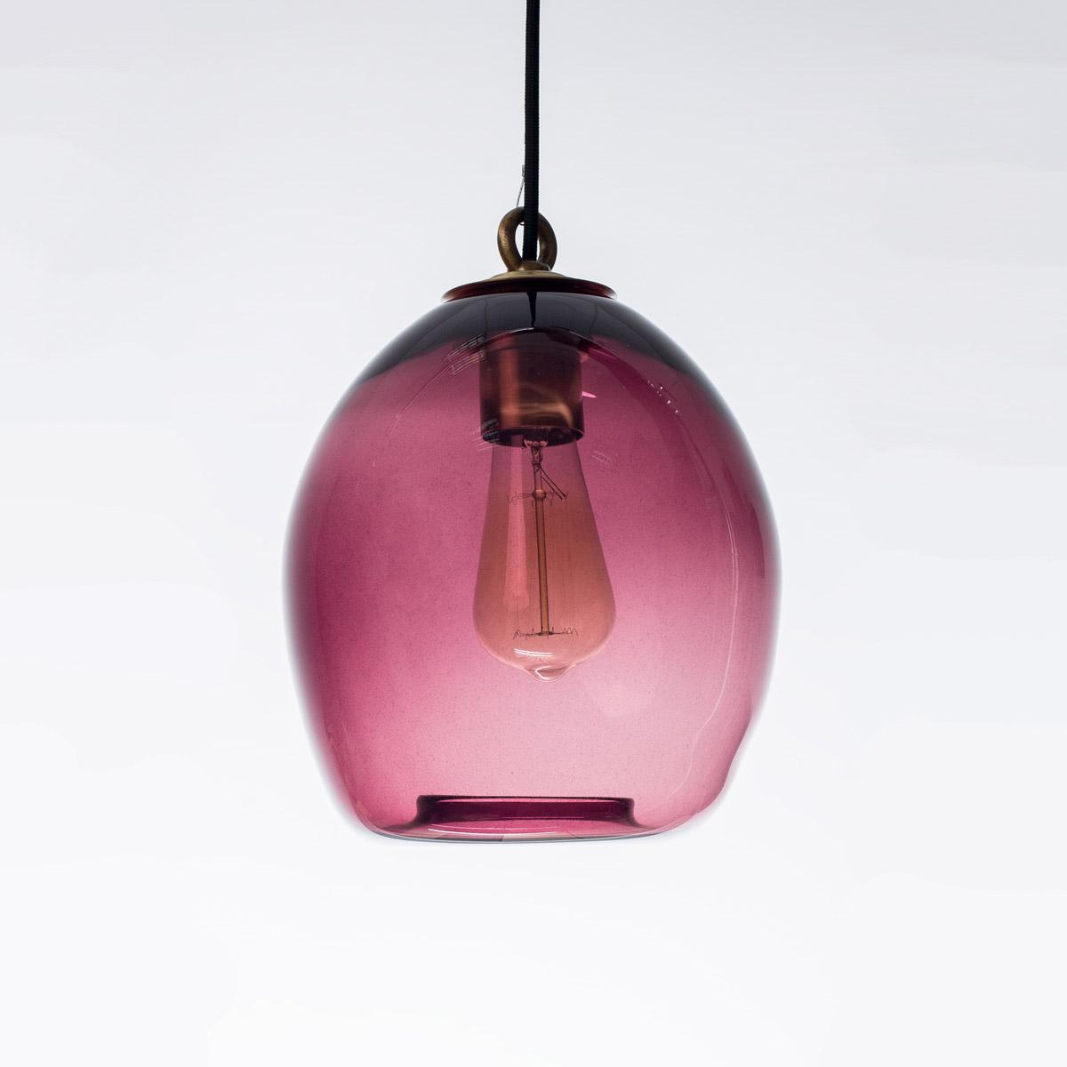 Потолочный светильник Colorglass фиолетовый