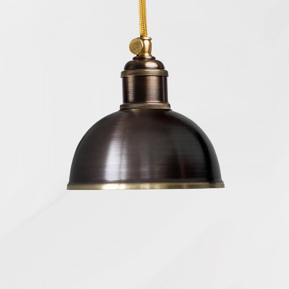 Потолочный светильник Small коричневый