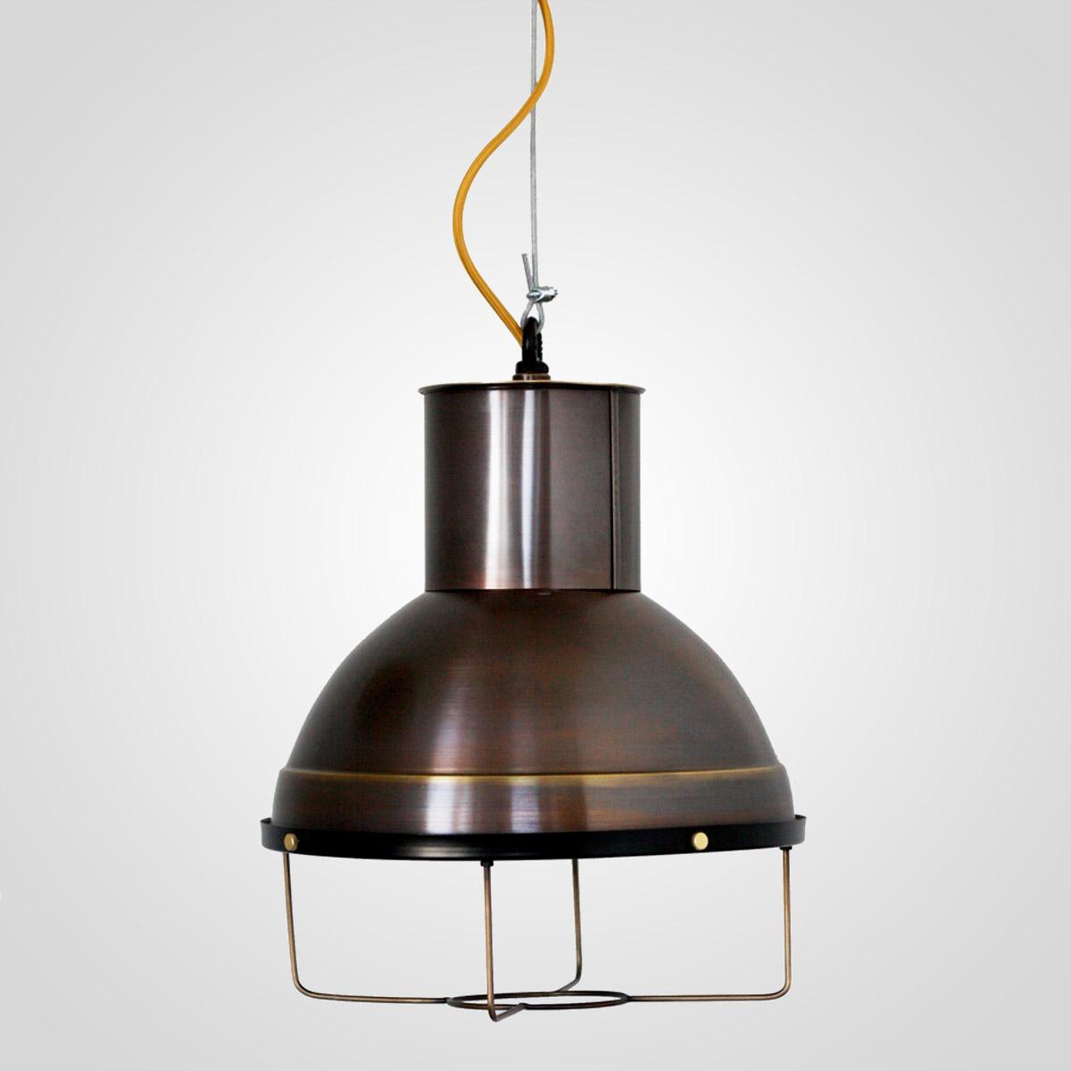Потолочный светильник 3449 латунный коричневый