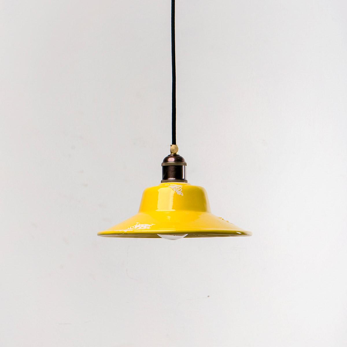 Потолочный светильник 4256 керамический желтый