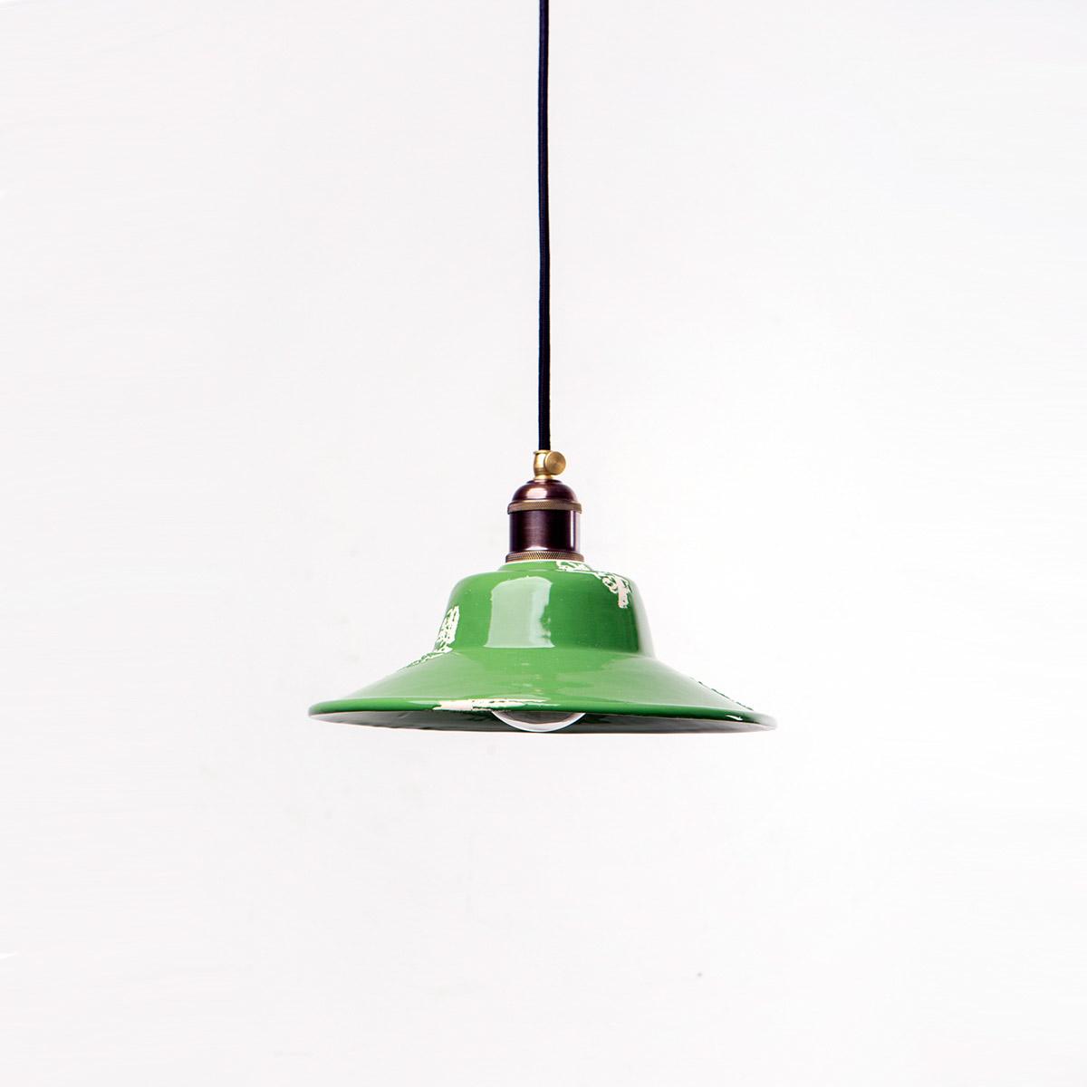Потолочный светильник 4256 керамический зеленый