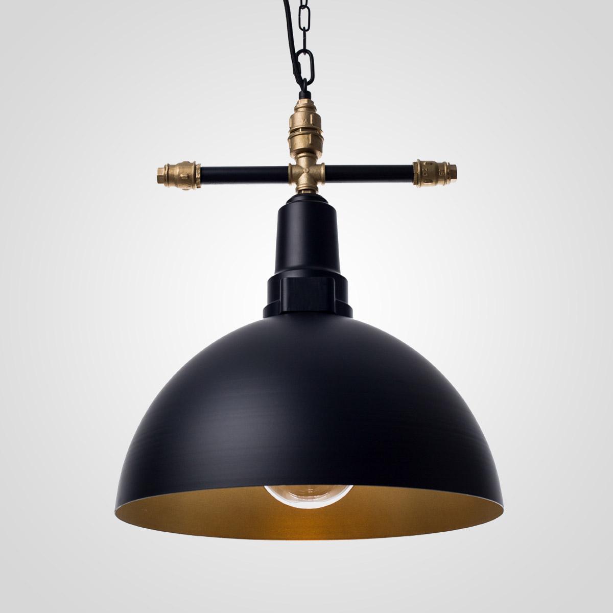 Потолочный светильник Round черный