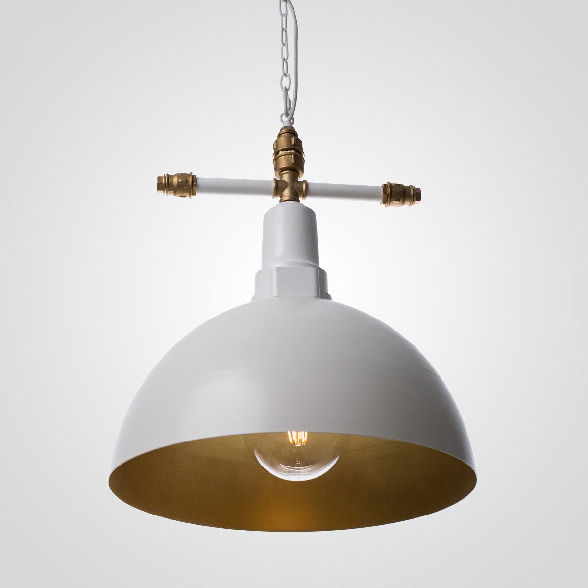 Потолочный светильник Round белый