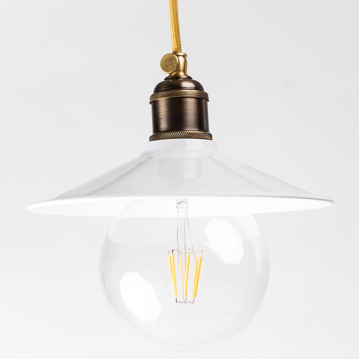 Потолочный светильник 740 стальной белый