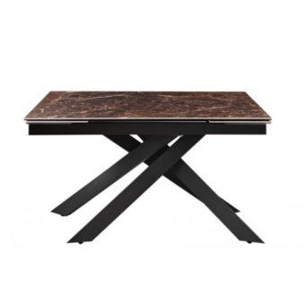 Gracio Imperial Brown стол раскладной керамика 160-240 см