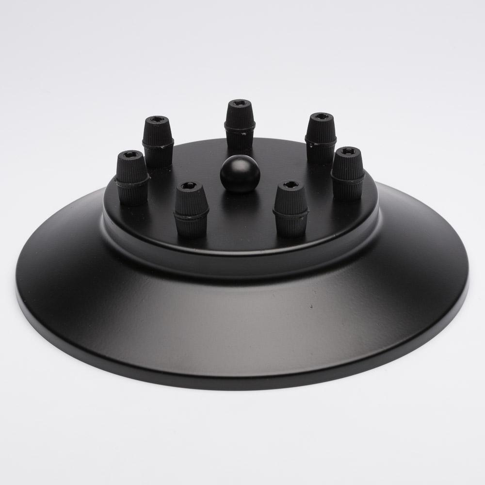 Потолочный крепеж на 7 отверстий черный