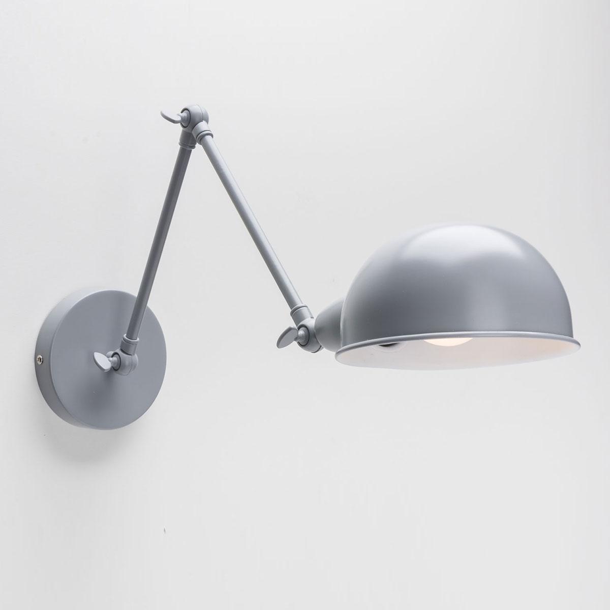 Настенный светильник Folke серый