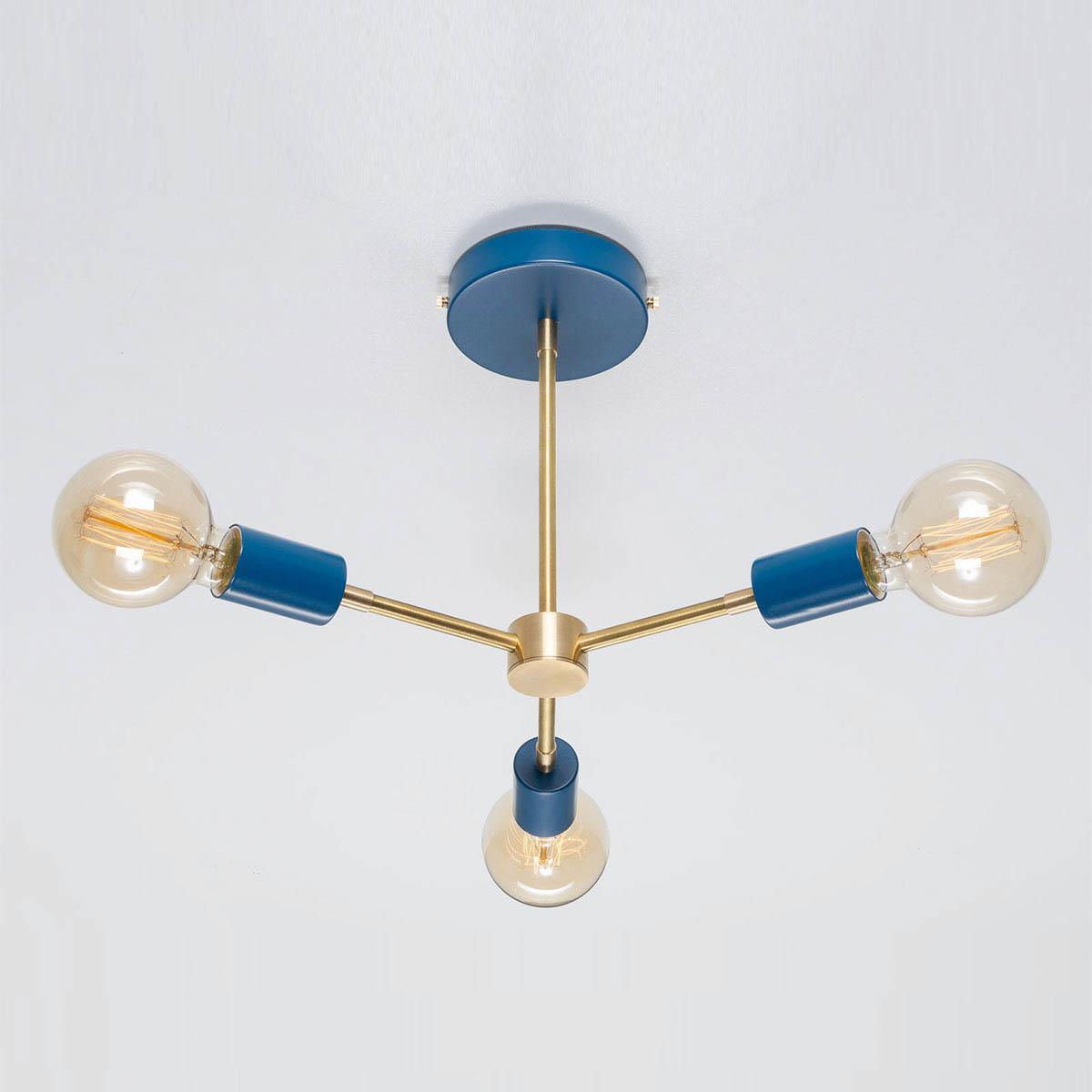 Потолочный светильник Lars синий