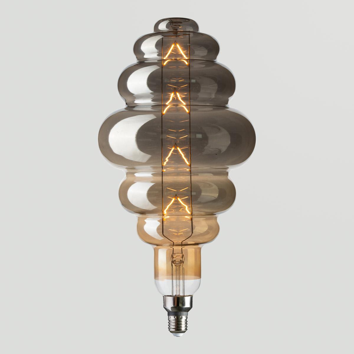 LED Лампа Origami-XL Titanium 8W