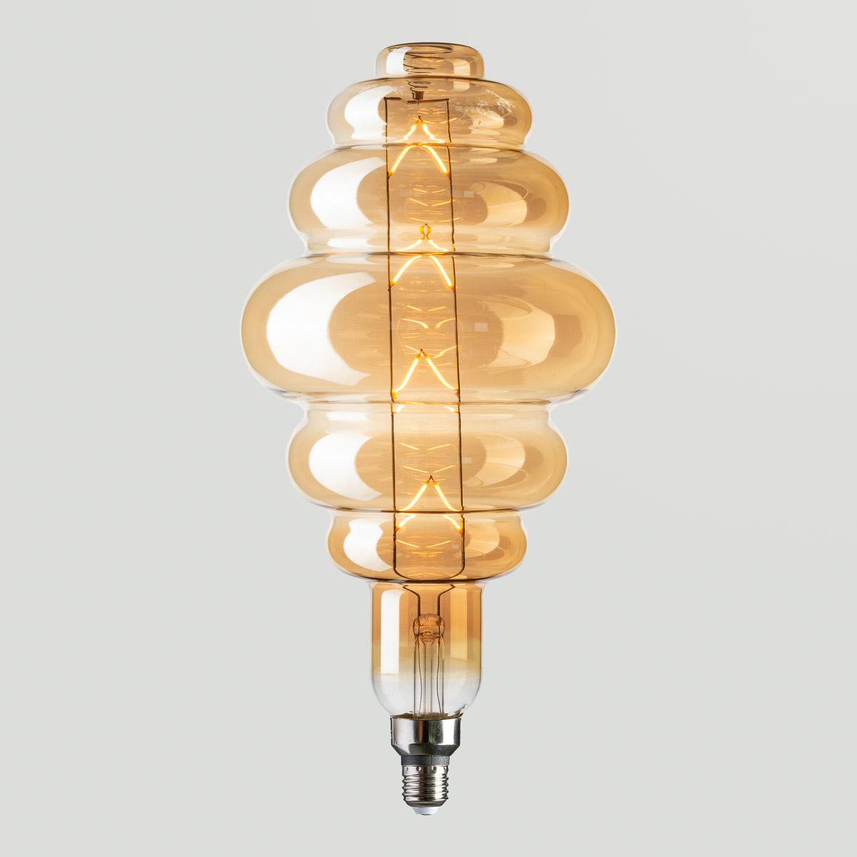 LED Лампа Origami-XL Amber 8W