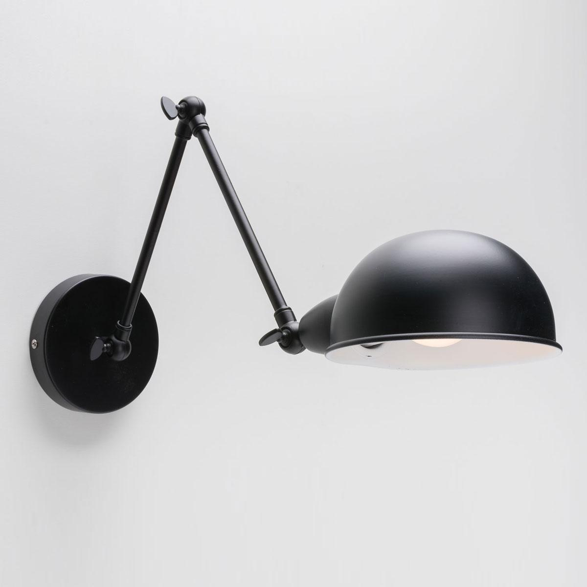 Настенный светильник Folke черный