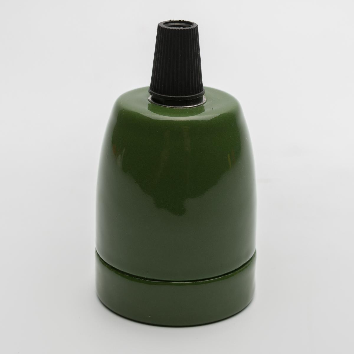 Патрон керамический зеленый