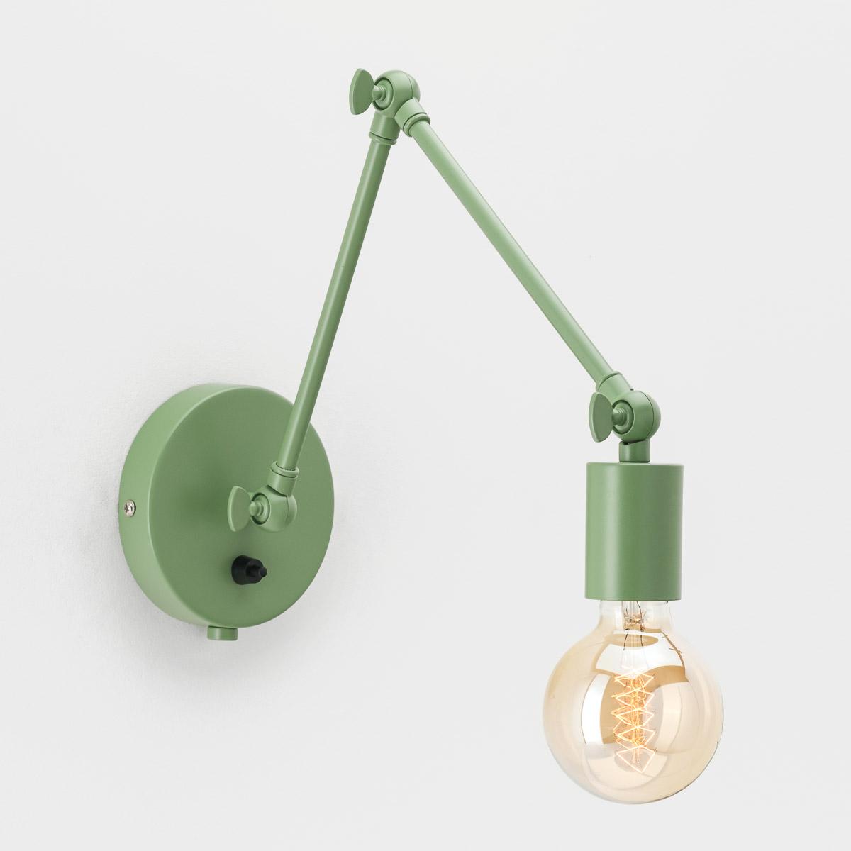 Настенный светильник Edvin зеленый