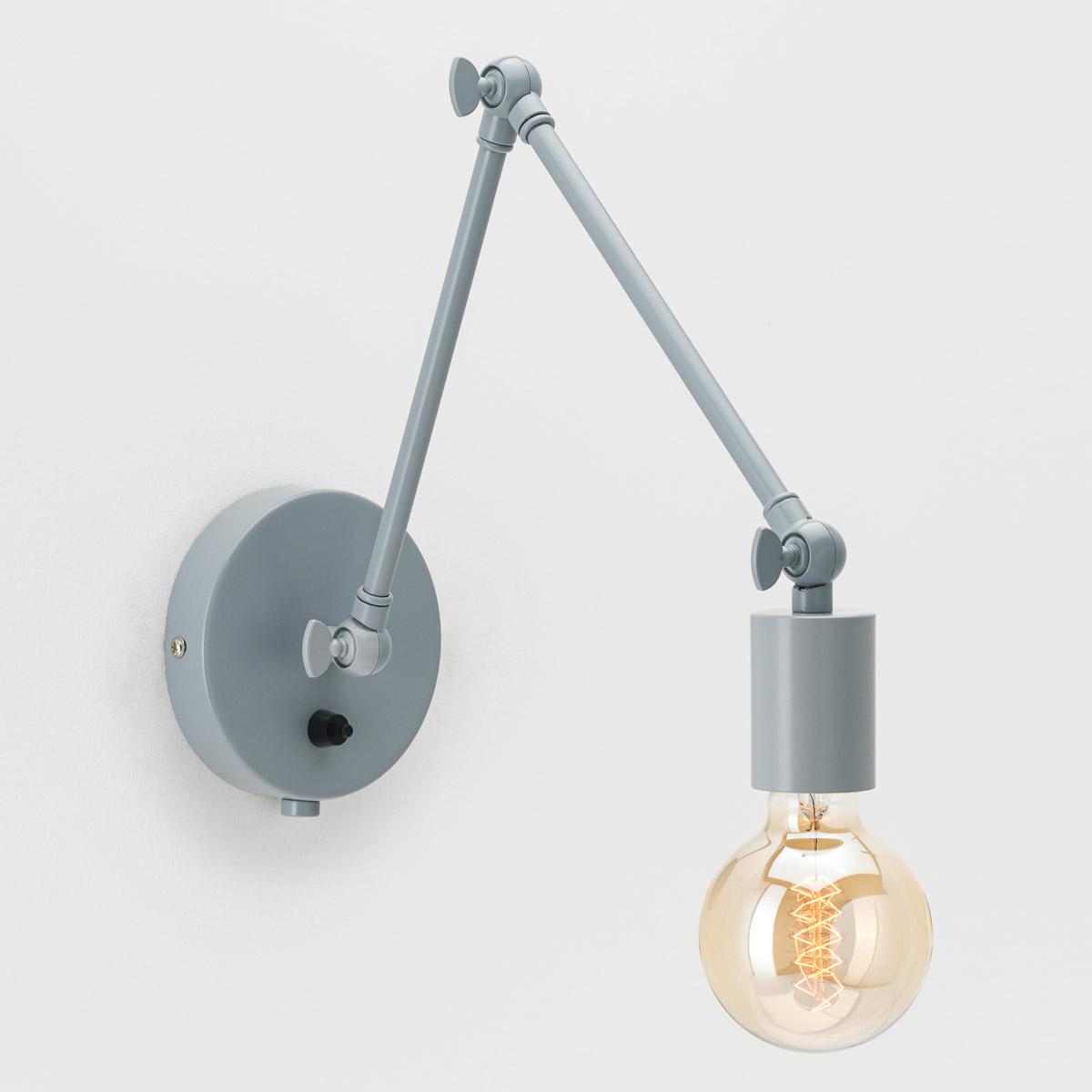 Настенный светильник Edvin серый