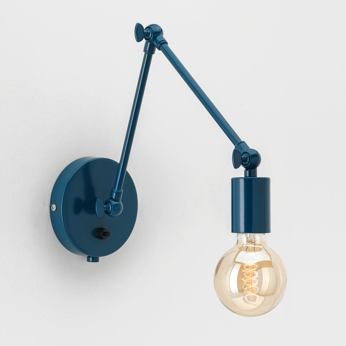 Настенный светильник Edvin синий