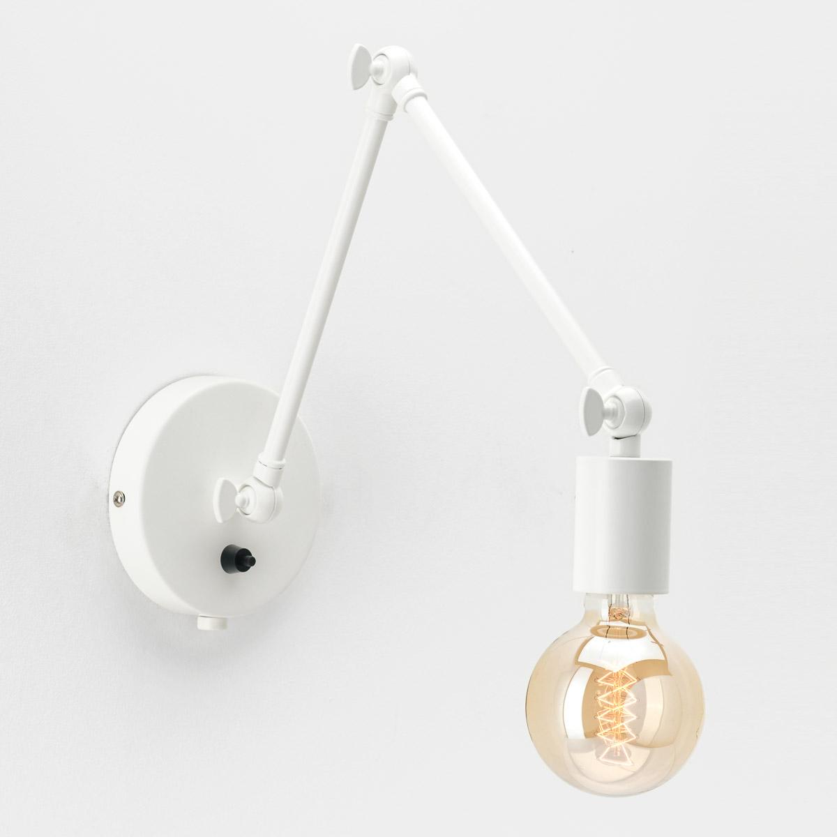 Настенный светильник Edvin белый