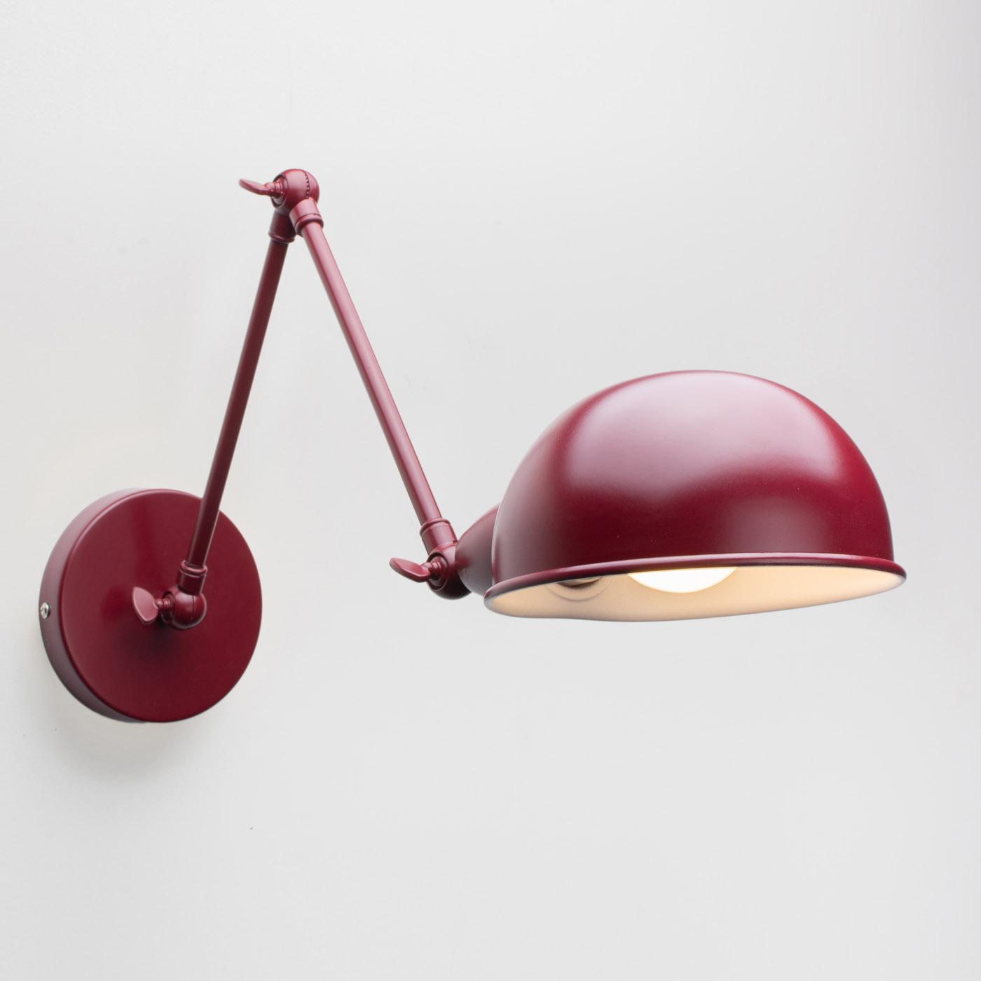 Настенный светильник Folke бордовый