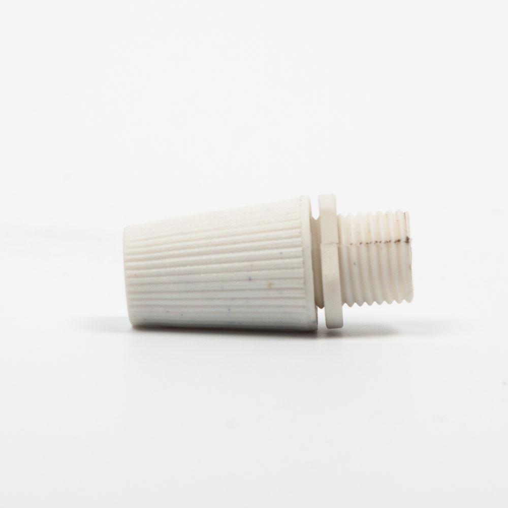 Фиксатор провода белый