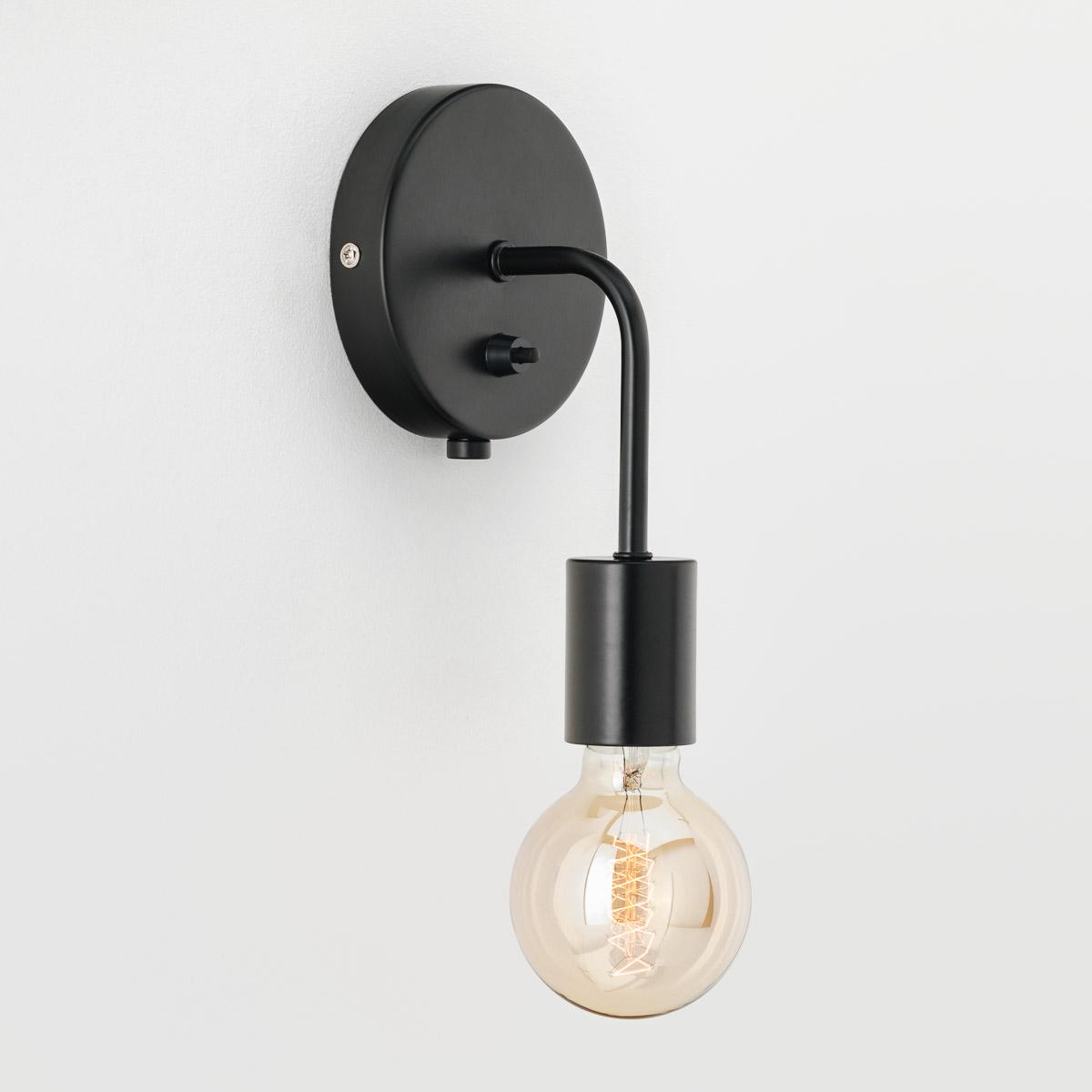 Настенный светильник Loui черный