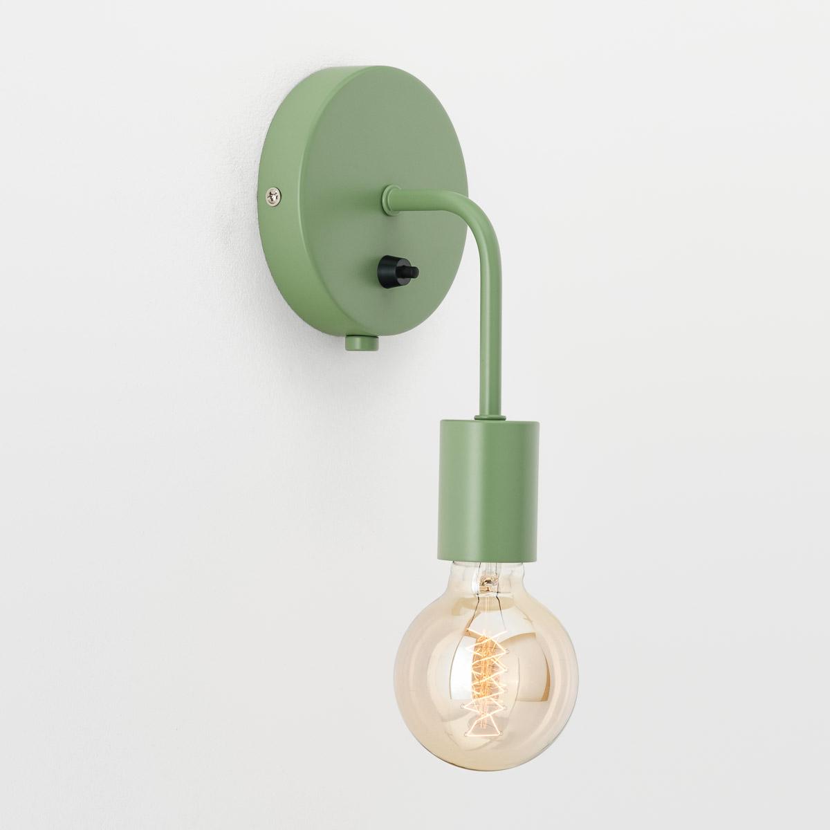 Настенный светильник Loui зеленый