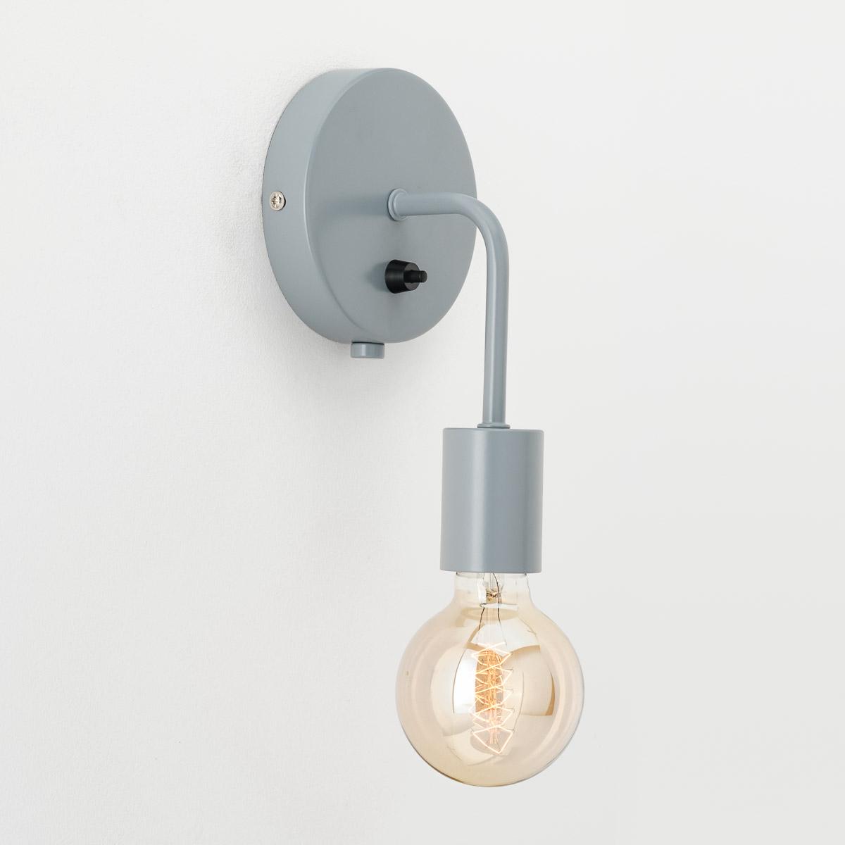 Настенный светильник Loui серый
