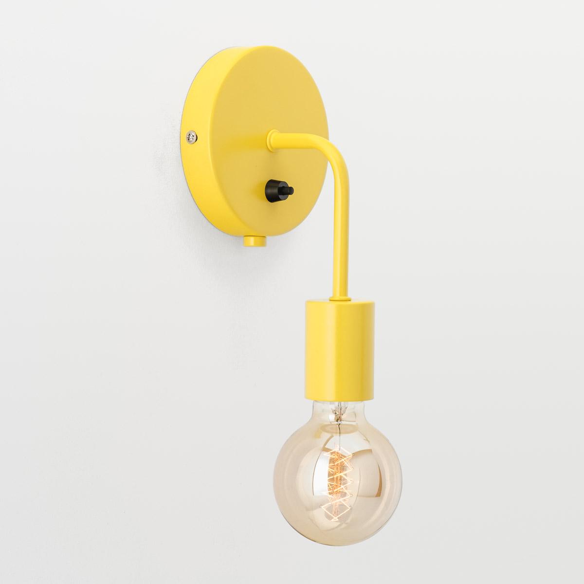 Настенный светильник Loui желтый